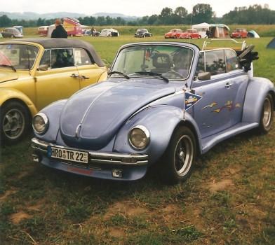 VW Käfertreffen Bradschwitz bei Dresden 1998
