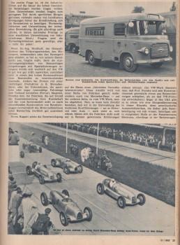 Duell Mercedes-Benz und Auto-Union