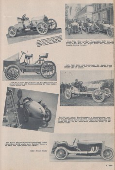 Rennsportwagen der Vergangenheit