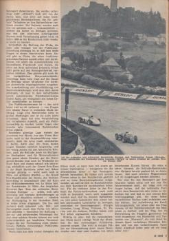 Rennstrecke Nürburgring Fangio Mercedes-Benz