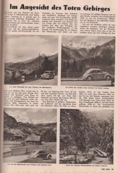 VW Käfer Tote Gebirge