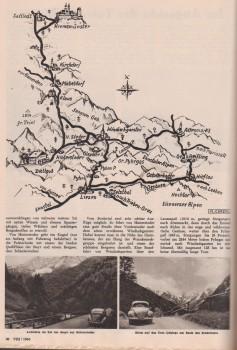 Ovali Bergfahrt und Talfahrt