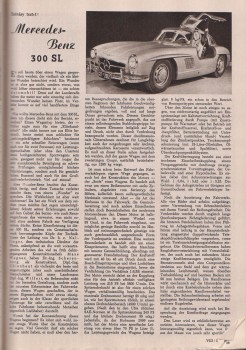 Mercedes-Benz 300 SL Test