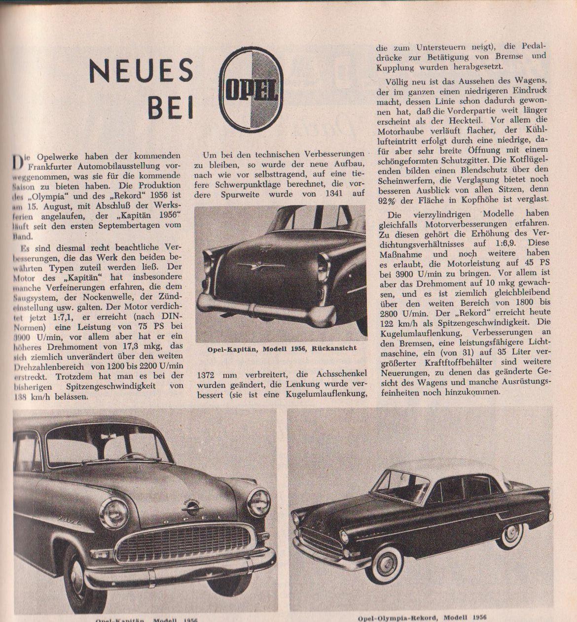 Neues Bei Opel Kaferblog