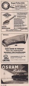 VW Netze Sonderzubehör Osram Werbung