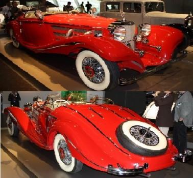 Mercedes 540K Spezial Roadster 1936