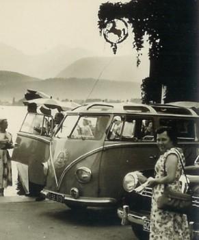 Vielleicht Karl Schreiner und Söhne VW Bus T1 Samba