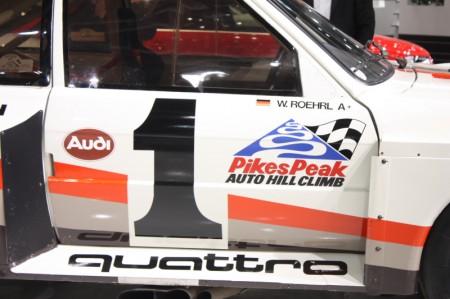 Vienna Autoshow 2013 Audi Sport Quattro S1 Pikes Peak Walter Röhrl