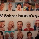 Vienna Autoshow 2013 VW Fahrer haben's gut