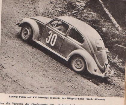 VW Käfer Ovali 30 Ludwig Fuchs Klippitz Thörl