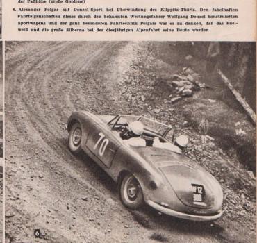 Denzel Sport Roadster Coupe Alpenfahrt Wolfgang