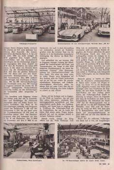 Daimler und Volkswagen 1955