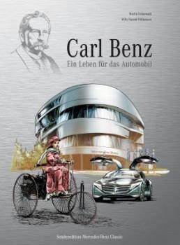 """Automobilhistorie als Comic: """"Carl Benz - Ein Leben für das Automobil"""""""