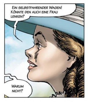 """Automobilhistorie Comic: """"Carl Benz - Ein Leben für das Automobil"""""""