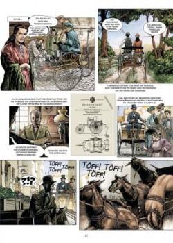 """Automobilhistorie als Comic: """"Carl Benz - Ein Leben für das Automobil"""" Foto"""