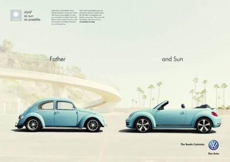 VW Beetle Cabriolet Kampagne