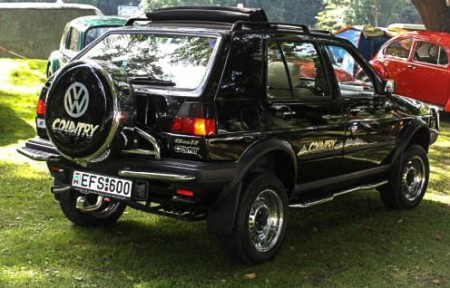 VW Golf II Country Cross Modell
