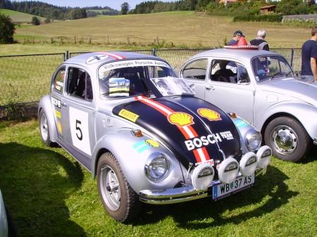 VW Porsche Austria Salzburgkäfer Rallye Käfer