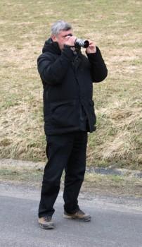 Helmut Deimel mit Kamera