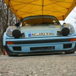 Rebenland Rallye 2013 Service Porsche