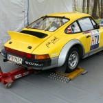 Rebenland Rallye 2013 Service Porsche 911 Fahrerlager