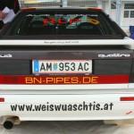 Rebenland Rallye 2013 Audi Quattro Fahrerlager Service