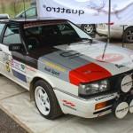 Rebenland Rallye 2013 Audi Quattro Fahrerlager