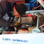 Rebenland Rallye Service VW Golf II Motor
