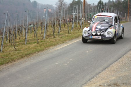 Rebenland Rallye 2013 VW Käfer
