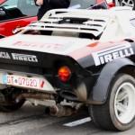 Rebenland Rallye 2013 Lancia Stratos technischer Defekt