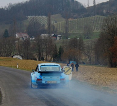 Fotos und Videos der Rebenland Rallye 2013 Historische Rallye Autos SP 9