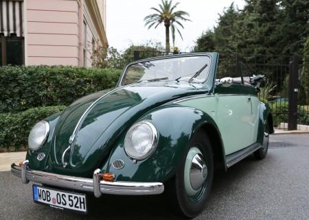 Fahrveranstaltung VW Käfer Cabriolet in Nizza