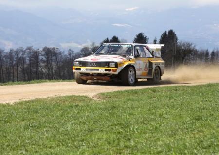 Lavanttal Rallye 2013 Fotos und Videos Rundkurs Audi Quattro S1 Porsche und Walter Röhrl