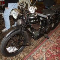 Oldtimermesse Tulln 2013 Ariel Motorräder