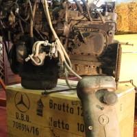 Oldtimermesse Tulln 2013 Mercedes-Benz Motor