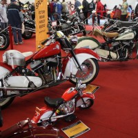 Oldtimermesse Tulln 2013 Motorräder Indian