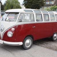 Oldtimermesse Tulln 2013 VW Bus T1 Samba