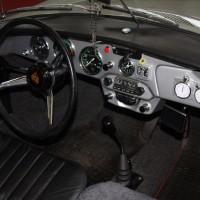 Oldtimer Messe Tulln Porsche 356 Cabrio Innenraum