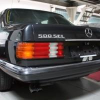 Oldtimertreff Mercedes-Benz 500 SEL gepanzert