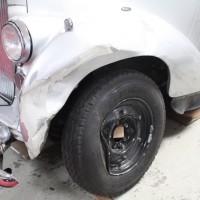 Oldtimer Unfall Crash Kotflügel