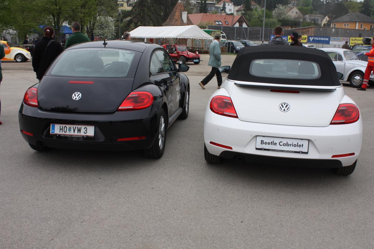 Vw Beetle Und Beetle Cabriolet Mit Neuen Details F 252 R Das