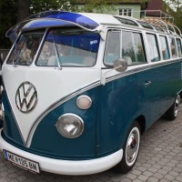 VW Käfertreffen Eggenburg 2013 VW Bus Samba T1