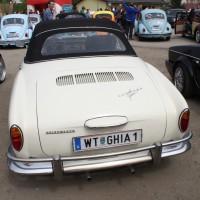 VW Käfertreffen Eggenburg Karmann Ghia Cabrio