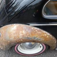 VW Käfertreffen Eggenburg rostiger Kotflügel