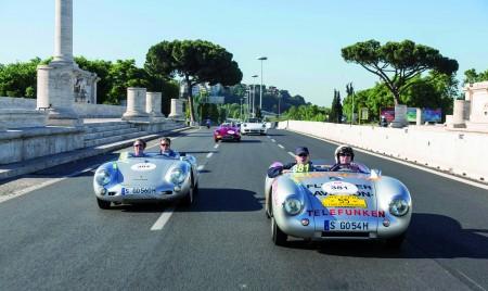 Zwei 550 Spyder aus dem Porsche Werksmuseum