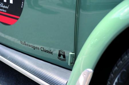 Volkswagen Classic startet mit neuem Logo Wolfsburg Emblem Wappen