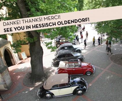 VW Käfertreffen in Hessisch Oldendorf 2013