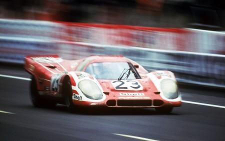Le-Mans-Siegerwagen Porsche 917 KH mit Hans Herrmann und Richard Attwood