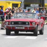 Ennstal-Classic 2013 Chopard Race Car Trophy Ford Mustang Cabriolet