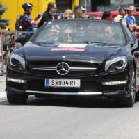 Ennstal-Classic 2013 Chopard Race Car Trophy Mercedes Benz AMG Cabriolet